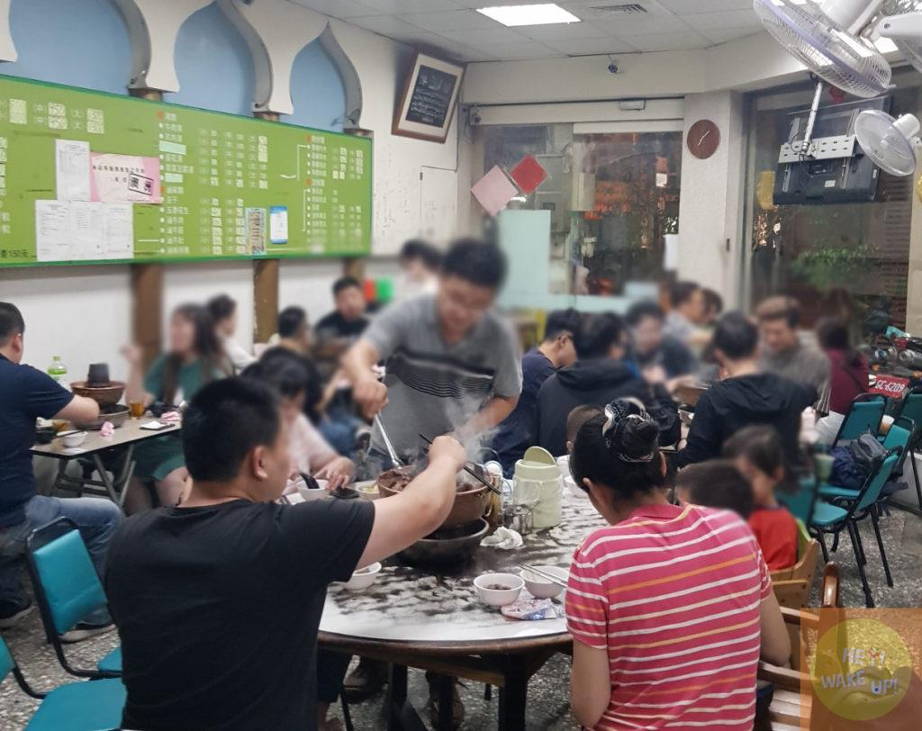 清真恩德元餃子館裡面環境2