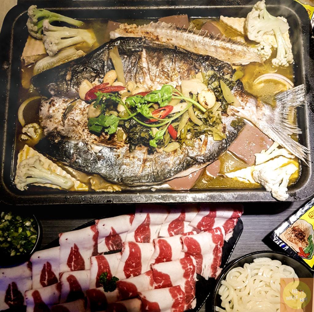 水貨炭火烤魚 此生必吃重慶烤魚獨特豆花系列