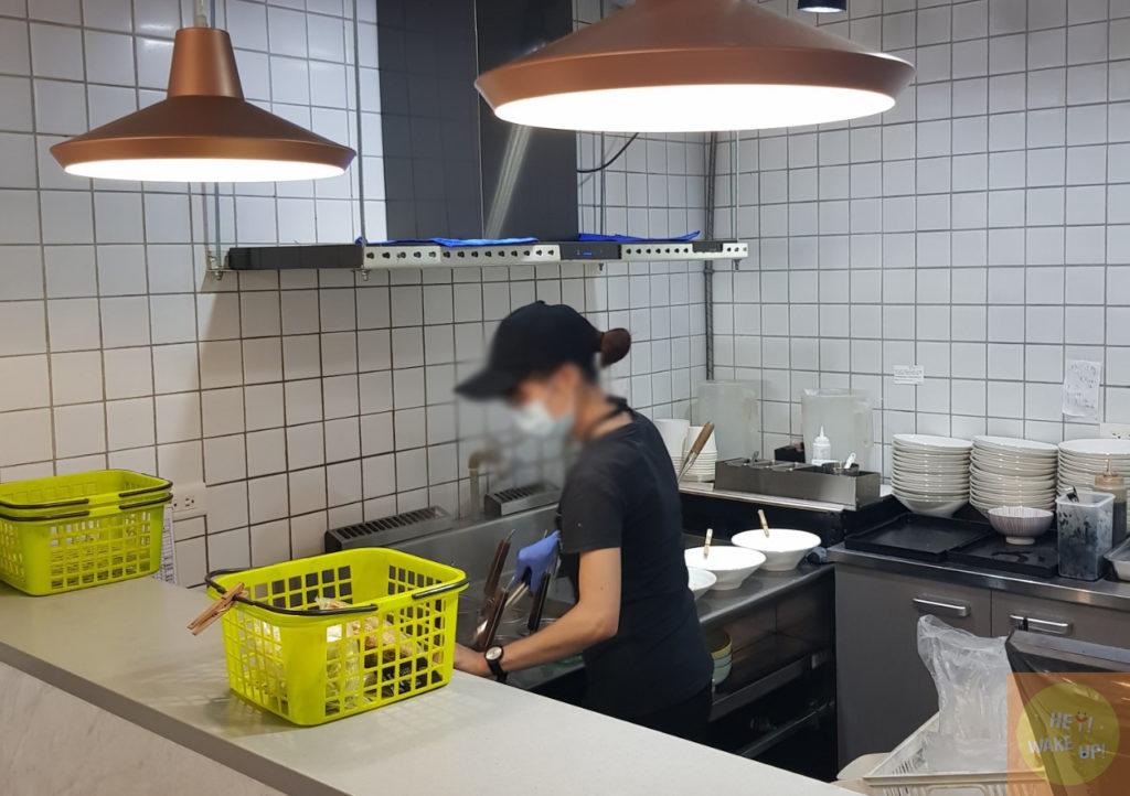 饗蔬職人開放式廚房