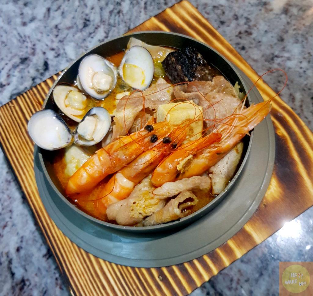 叻沙鮮蝦鍋燒