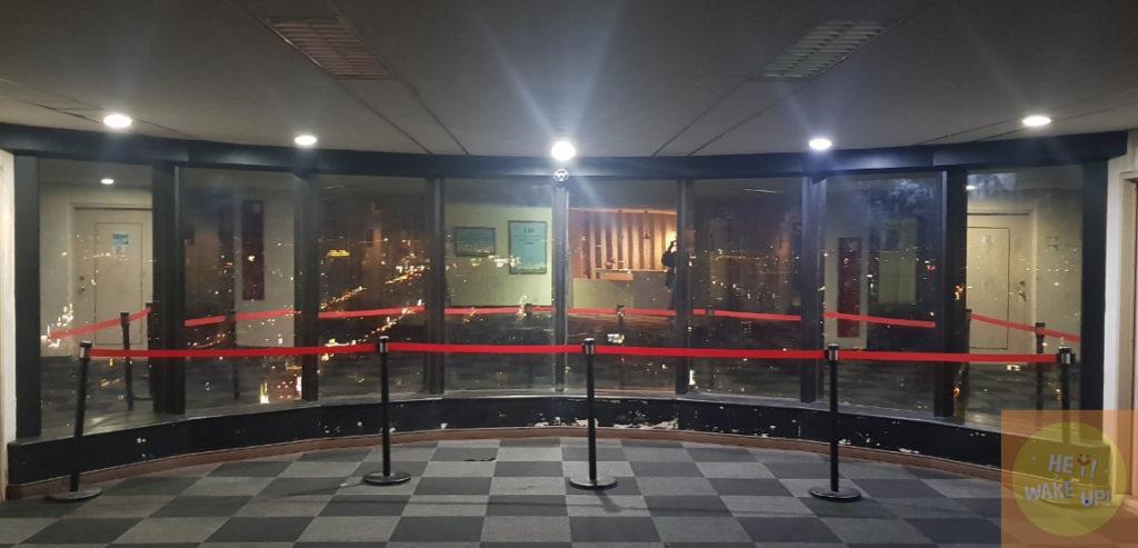 36樓電梯出來景色