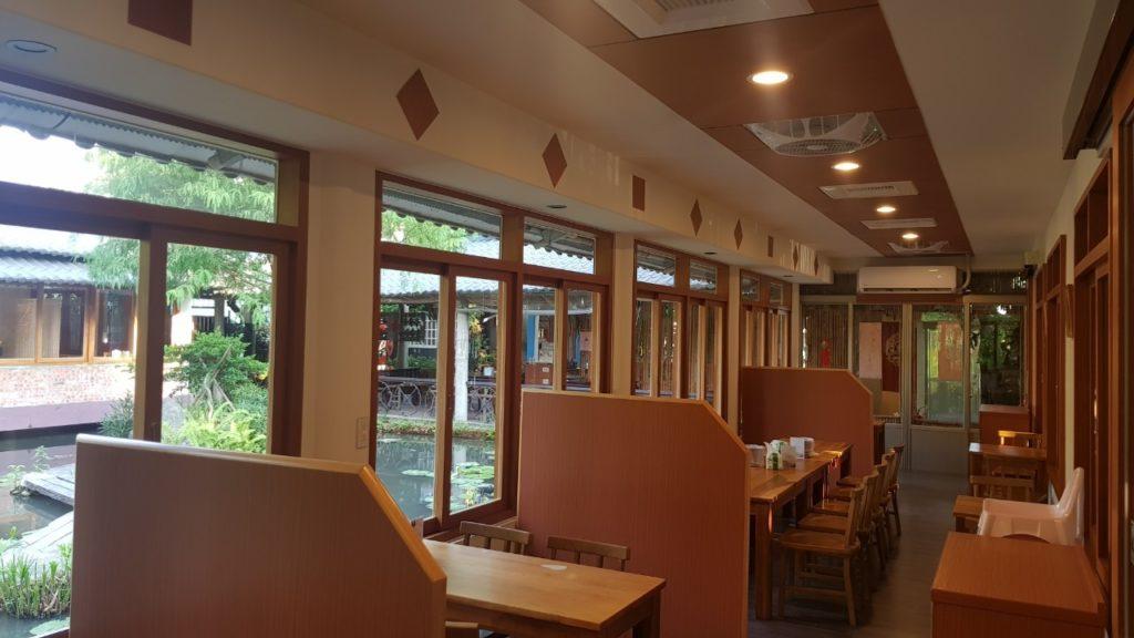 田寮農莊餐廳內部
