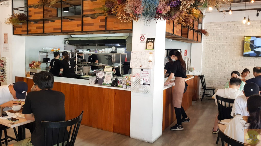 濰克早午餐店內環境
