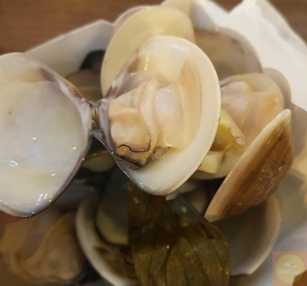綜合蛤蠣燒