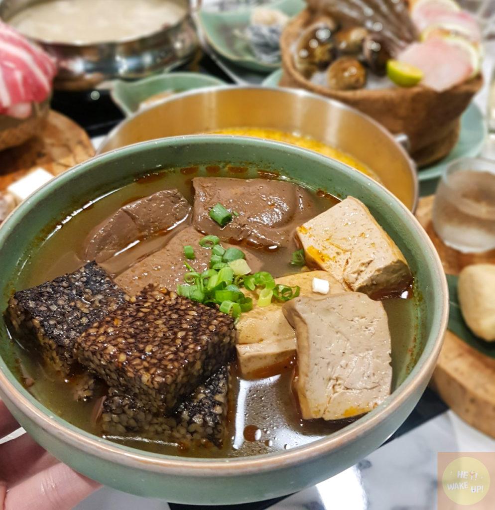 臭豆腐、鴨血、米腸