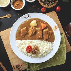 嫩雞咖哩飯