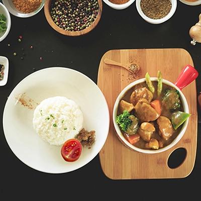 綜合野菜嫩雞咖哩飯