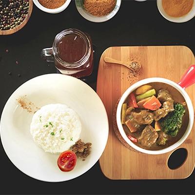 綜合野菜嫩牛咖哩飯