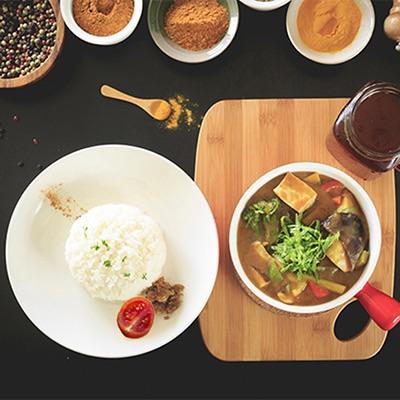 [全素]蔬菜野菇咖哩飯