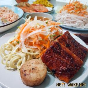 浦燒鰻魚特餐
