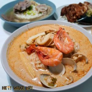 泰式海鮮酸辣湯麵