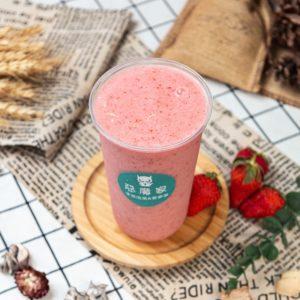 鮮草莓冰沙