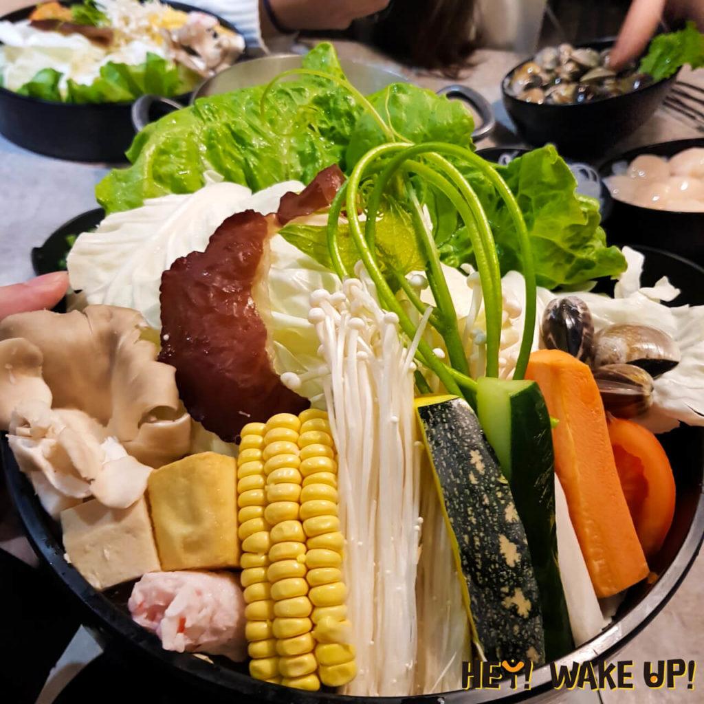 宇良食健康鍋物-菜盤