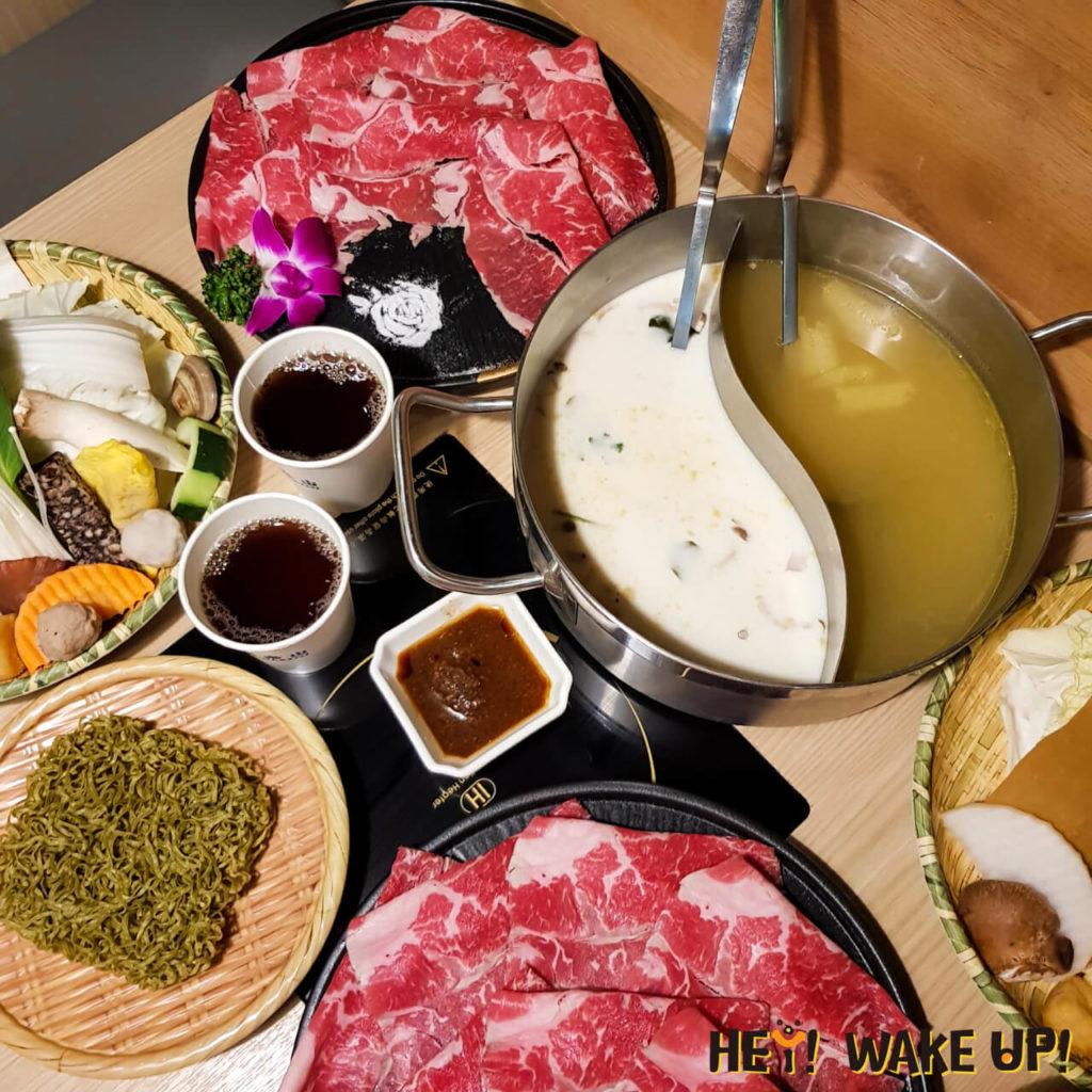 鍋泰山和牛套餐