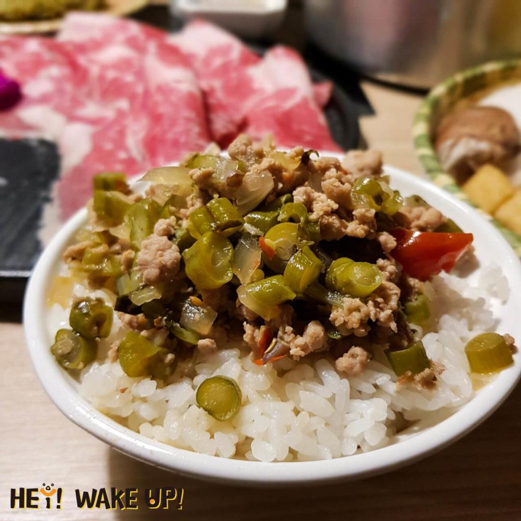 鍋泰山打拋豬飯