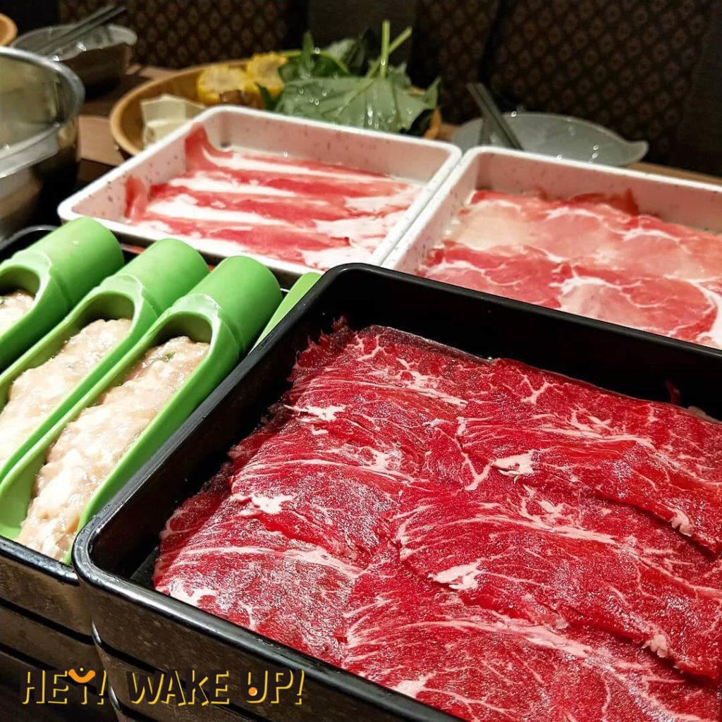 涮乃葉-紐澳牛肉+國產豬肉套餐