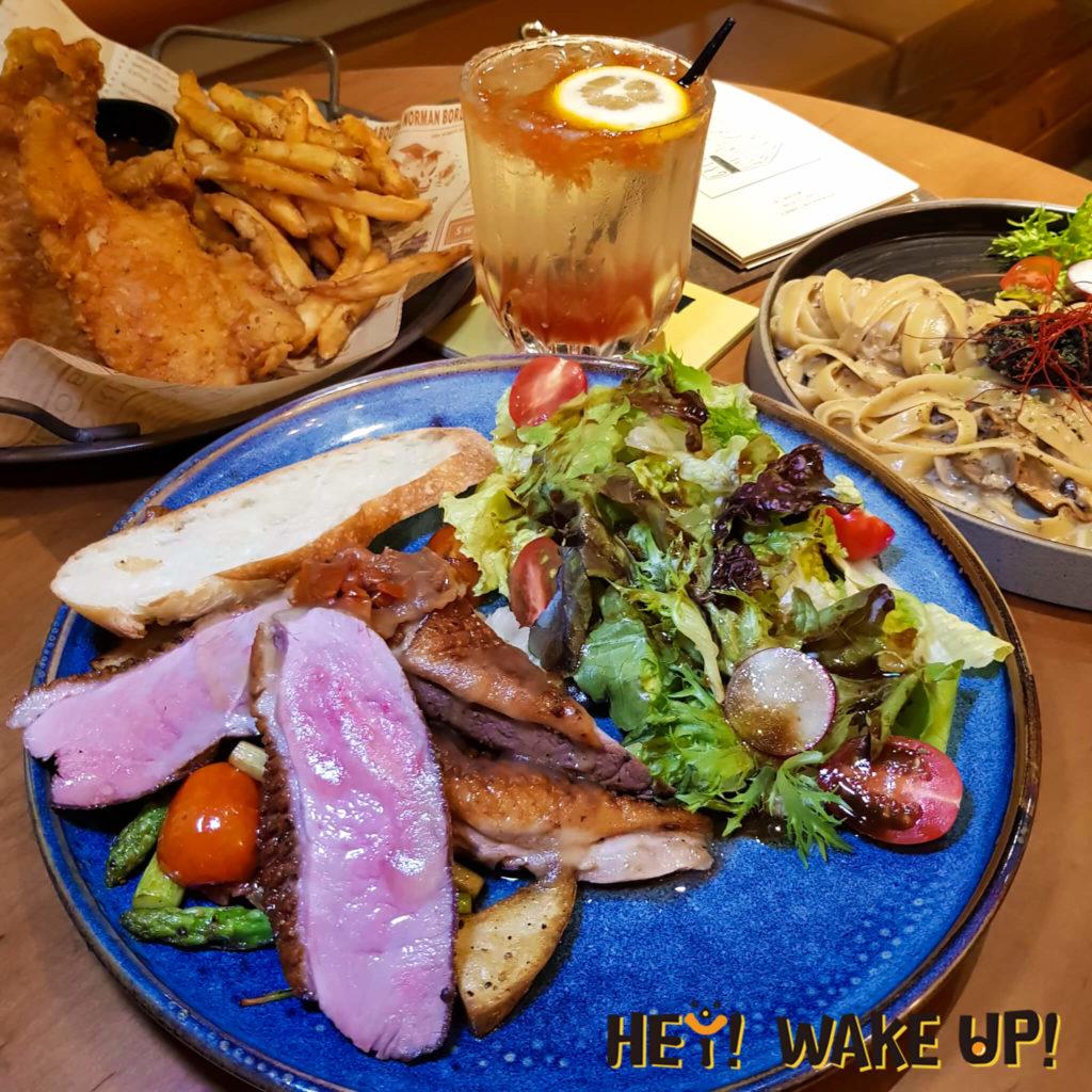 AT three café-櫻桃鴨胸