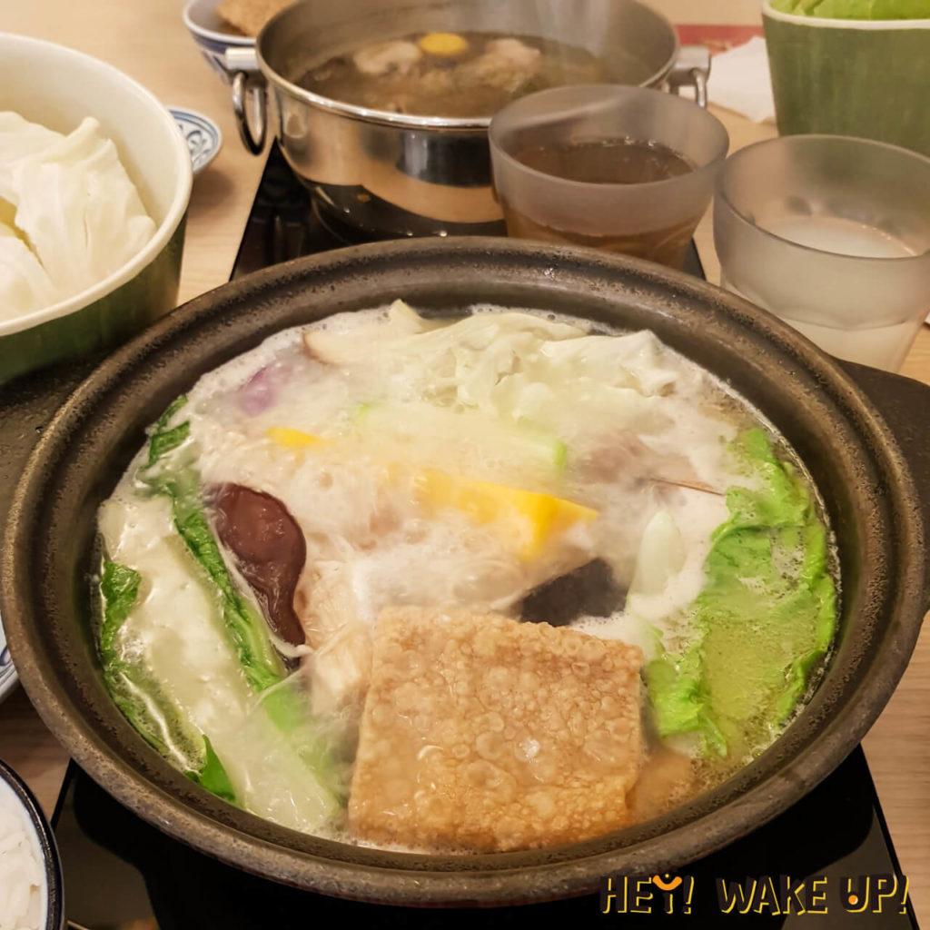 牛奶切達貴賓-小麥梅花豬鍋