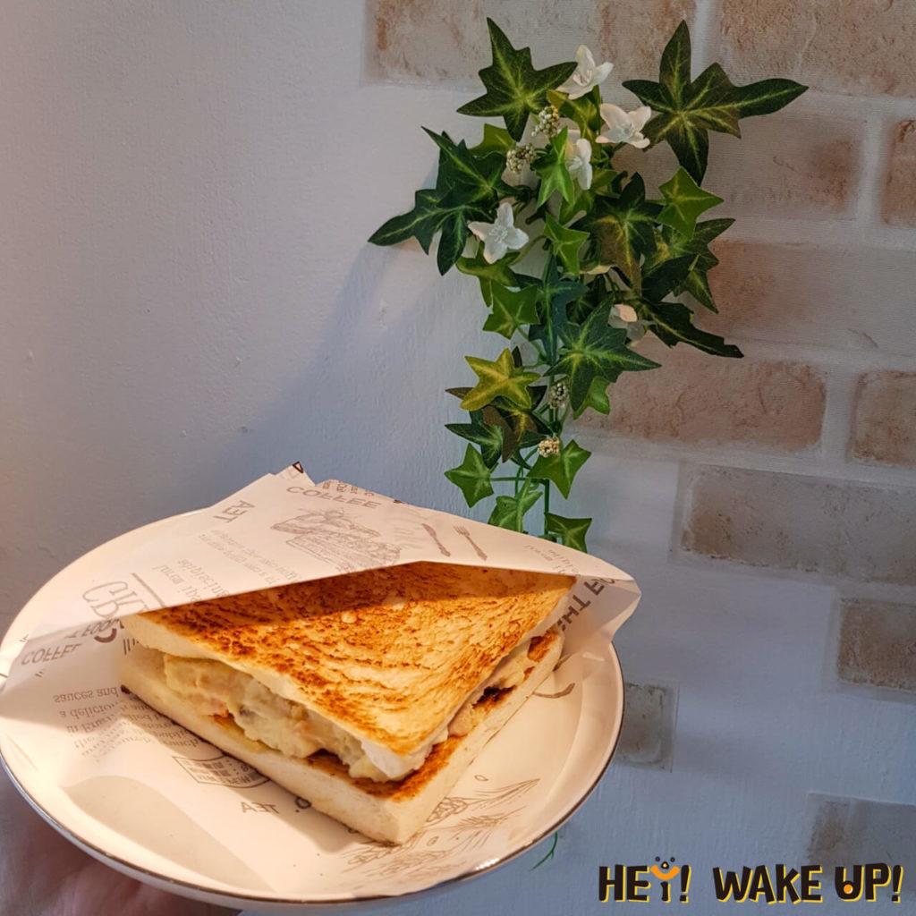 鮪魚蛋沙拉三明治
