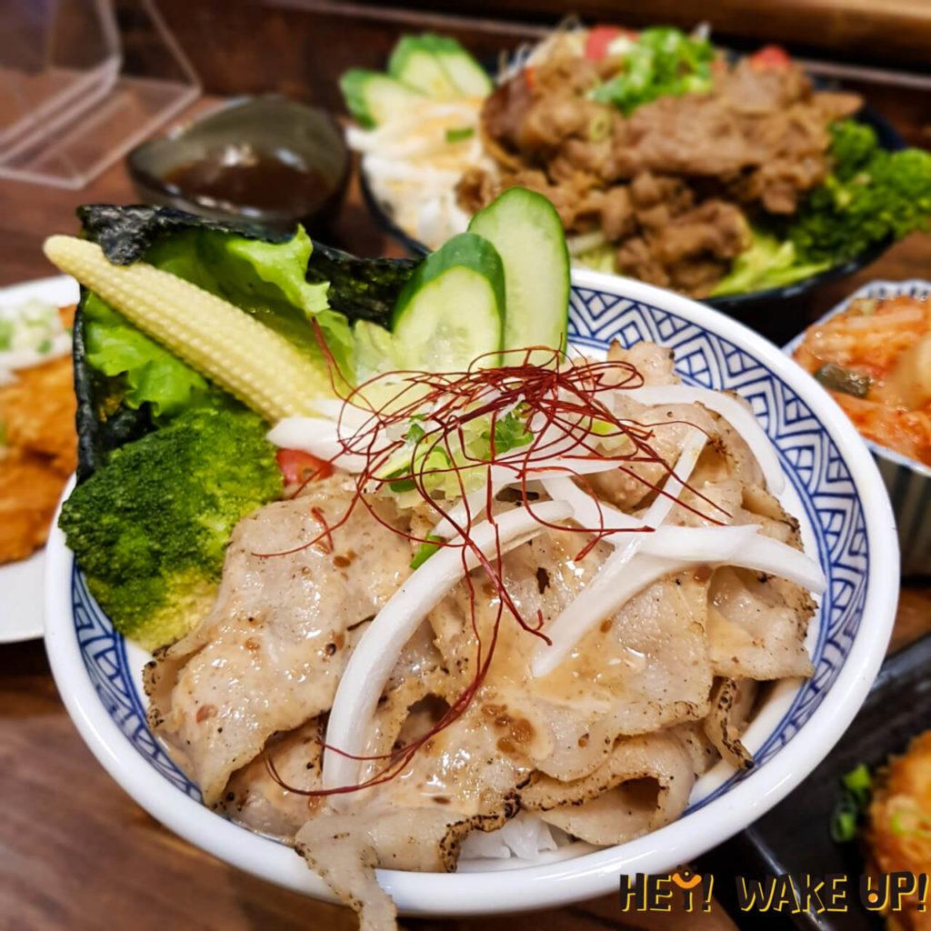 鹽烤松阪豚丼