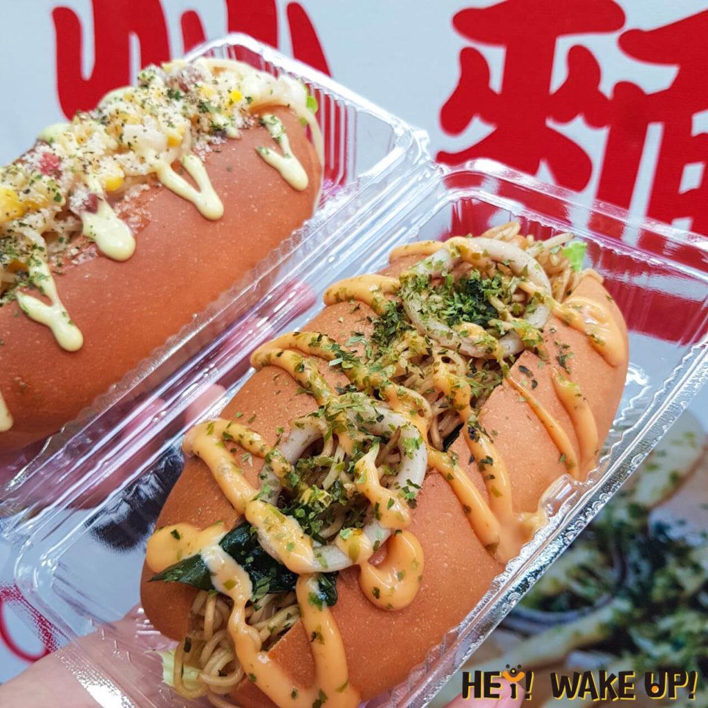 日本和風義大利麵包