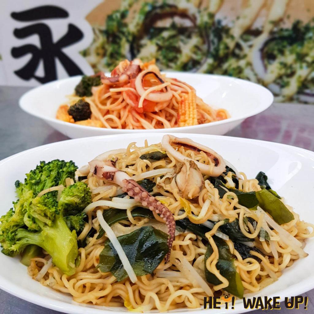 日式炒泡麵