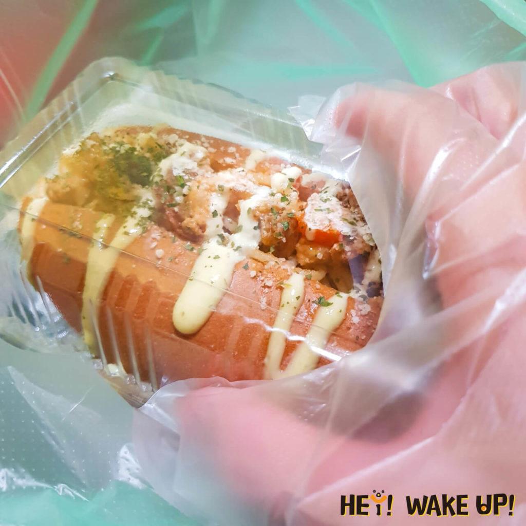 永勝炒麵麵包