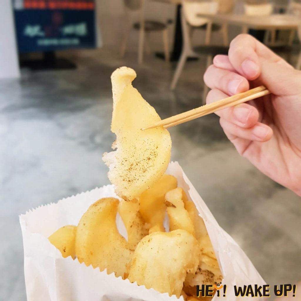 椒鹽翹翹薯