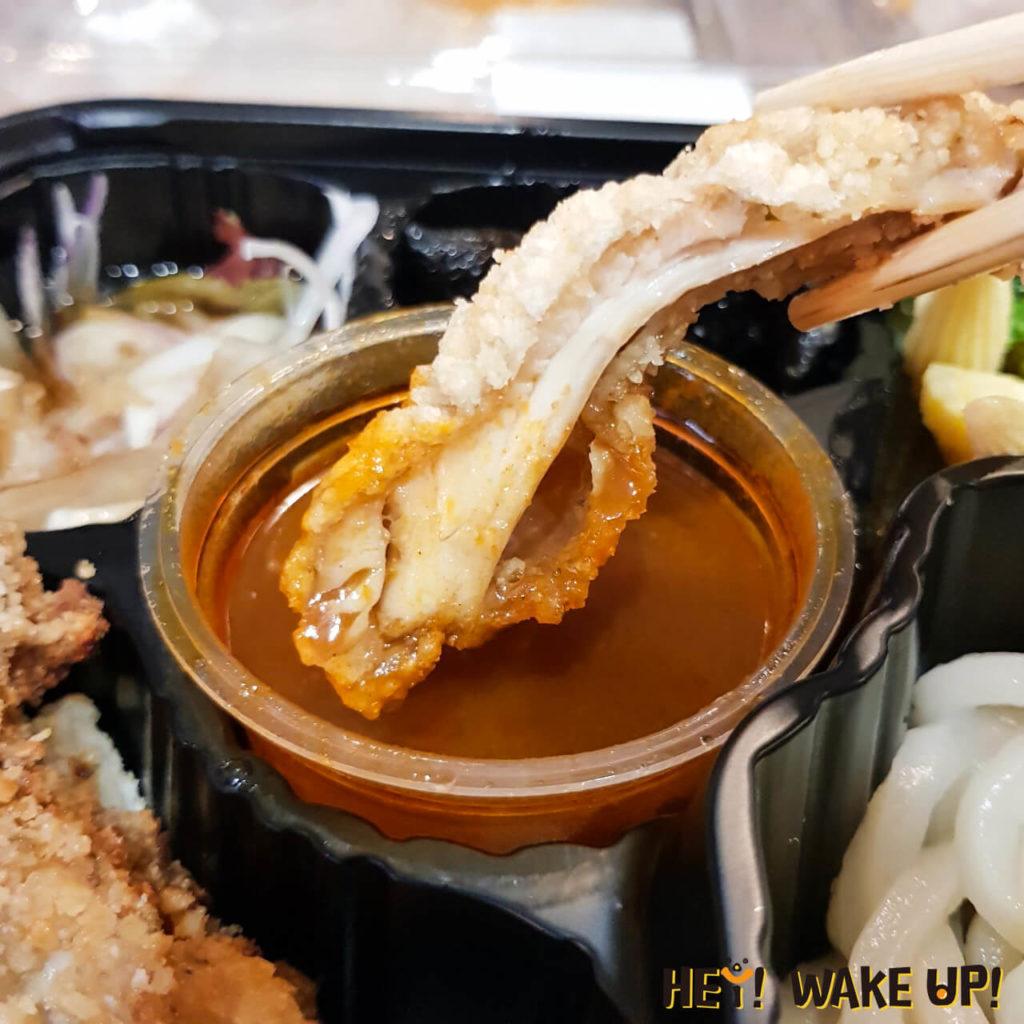 泰式雞腿烏龍沾麵