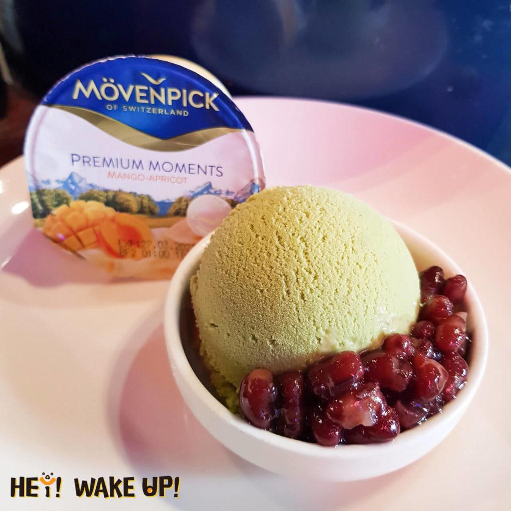 抹茶紅豆冰