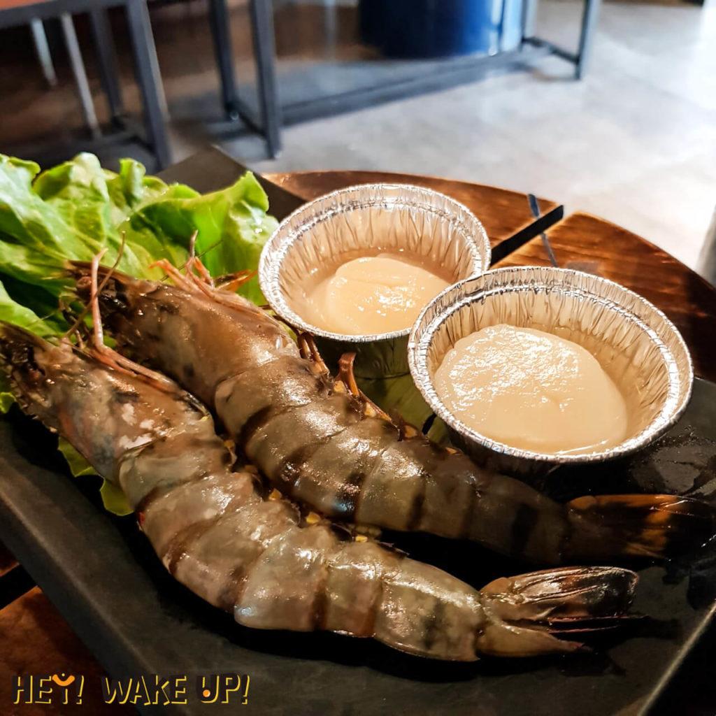 草蝦、干貝