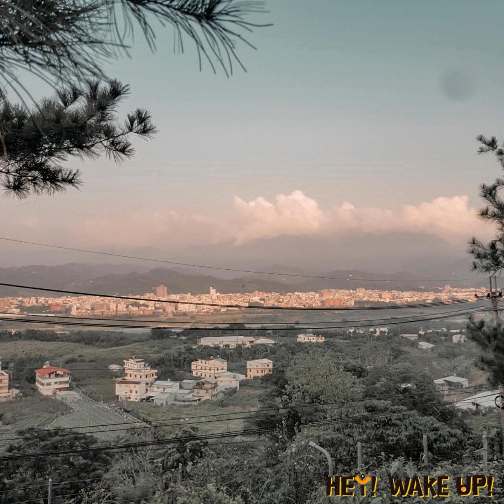 彩虹山舍浪漫風景、夜景