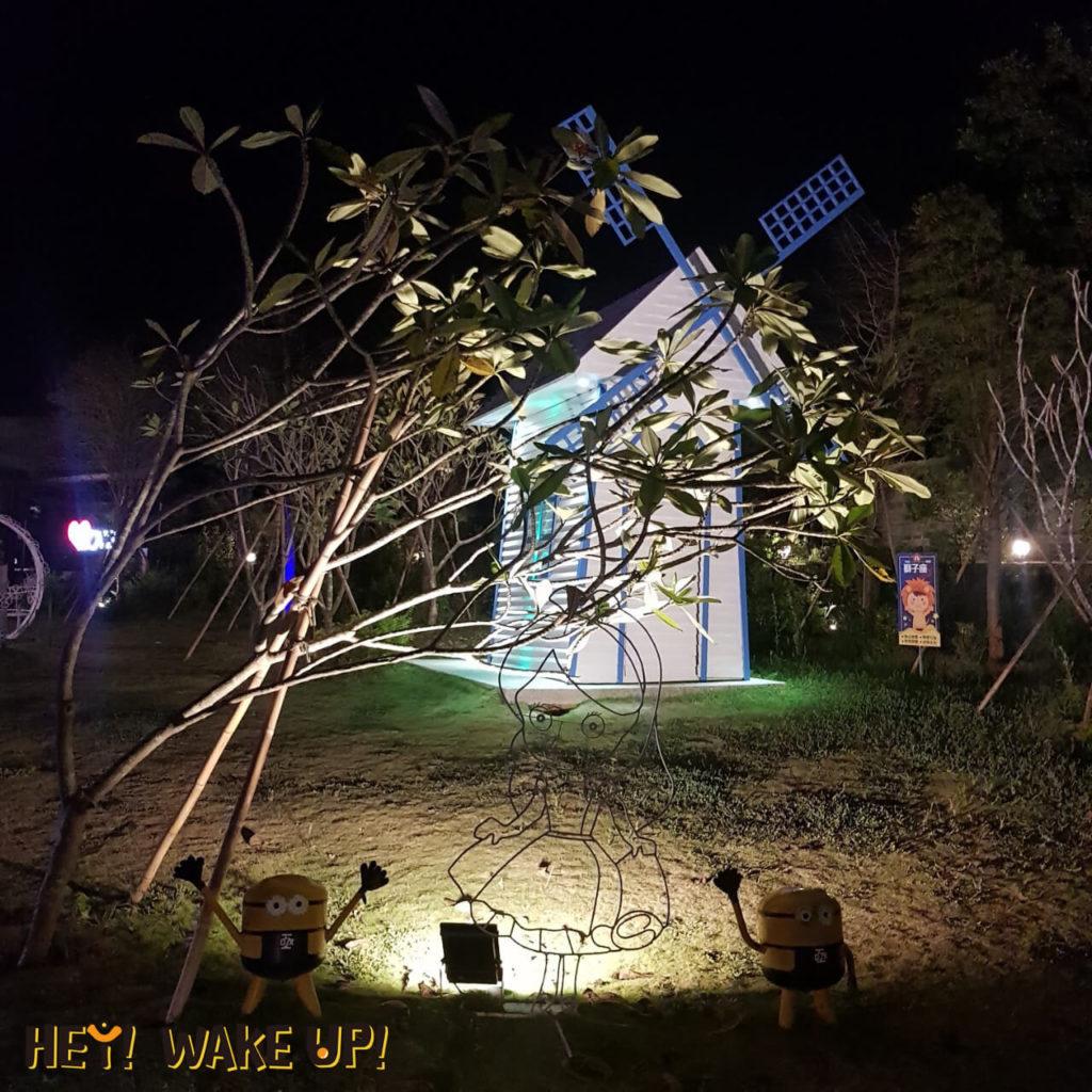 星星複合式夜景餐廳-裝置藝術