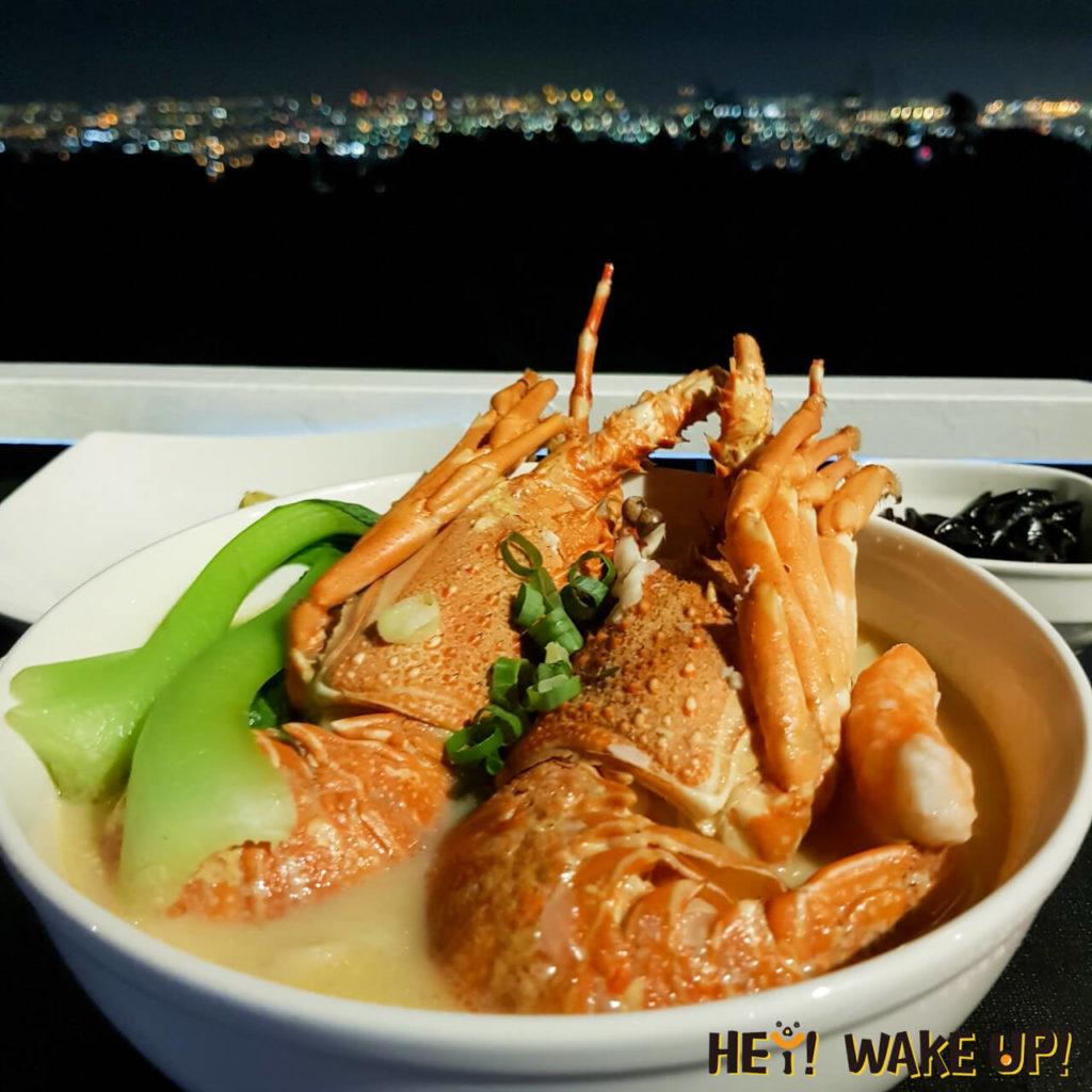 星星複合式夜景餐廳-起司龍蝦拉麵