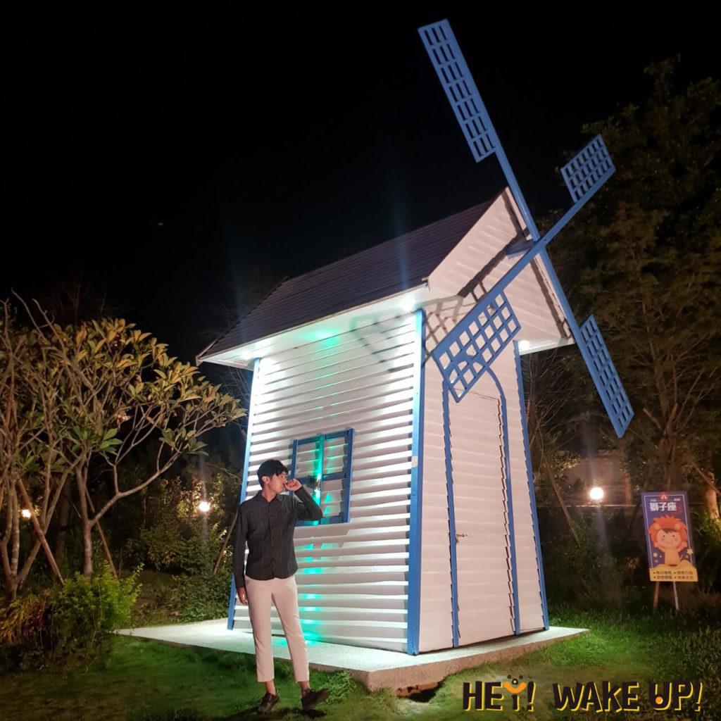 星星複合式夜景餐廳-十二星座裝置藝術