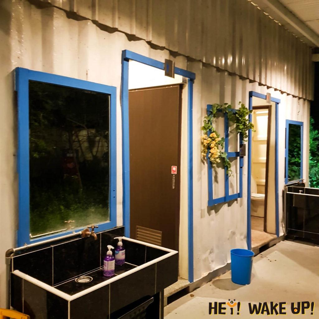 星星複合式夜景餐廳廁所