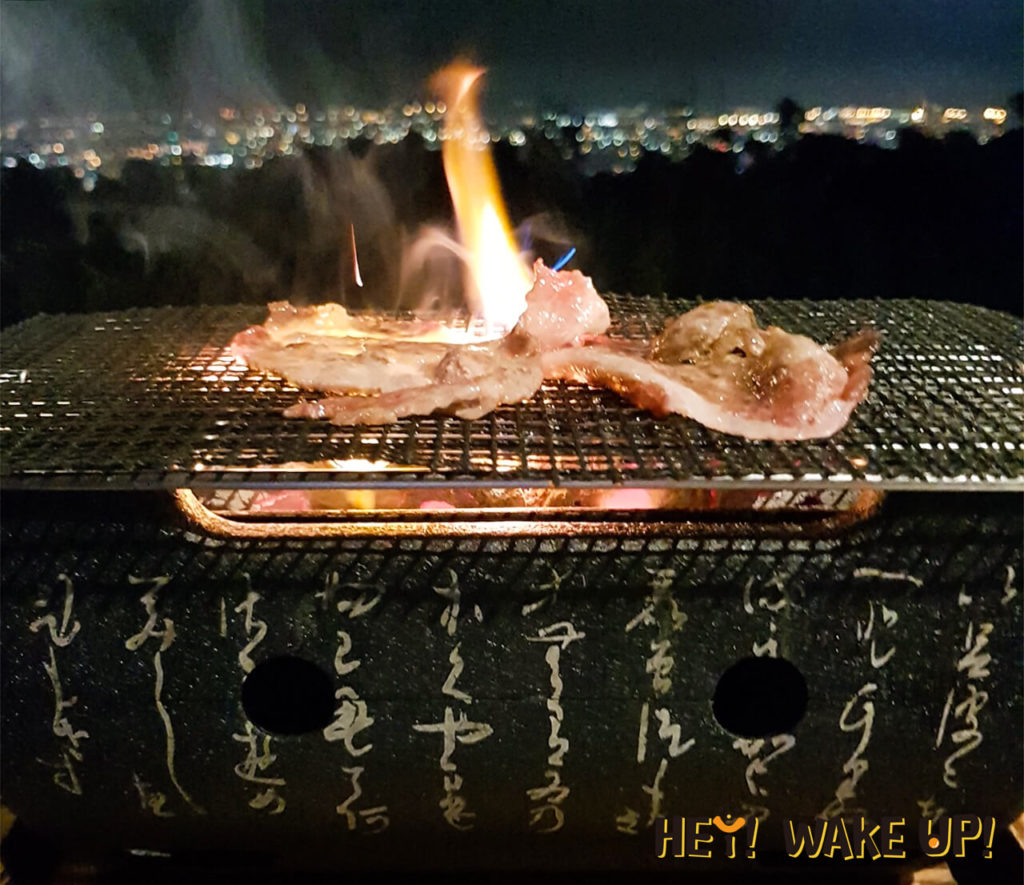 單人日式碳烤燒肉-伊比利豬
