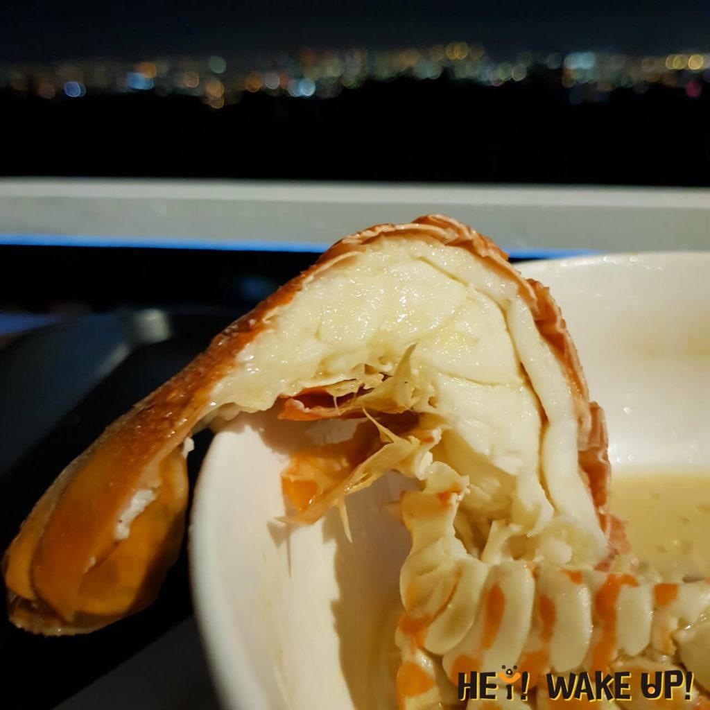 起司龍蝦麵