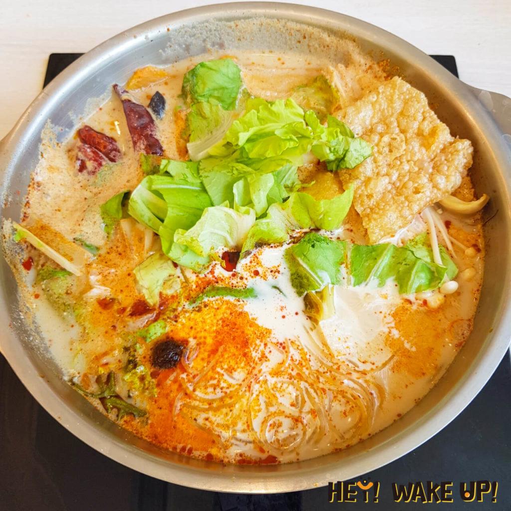 港式麻奶鍋