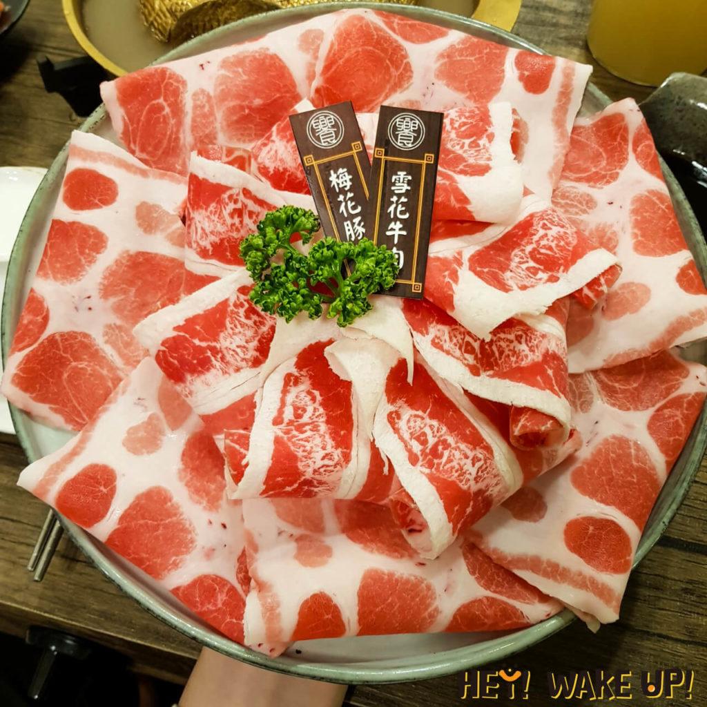 梅花豚+雪花牛